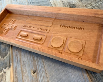 Nintendo NES controller change tray valet catch-all