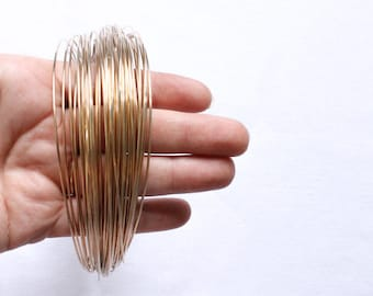 2ft ds 14k 16g round commercial 14kt gf wire gold filled supplies