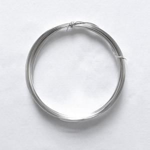 Wholesale Half Hard Round Wire Bulk Wire 10 Feet 16 Gauge Crafting Wire SS HH Wire .925 Jewelry Wire Sterling Silver Wire