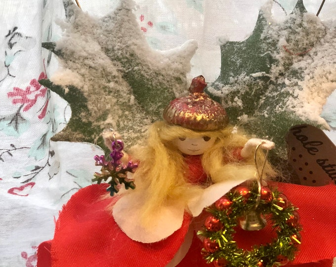 Christmas Decorating Fairy - IN STOCK