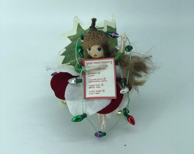 All Tangled Up Christmas Fairy