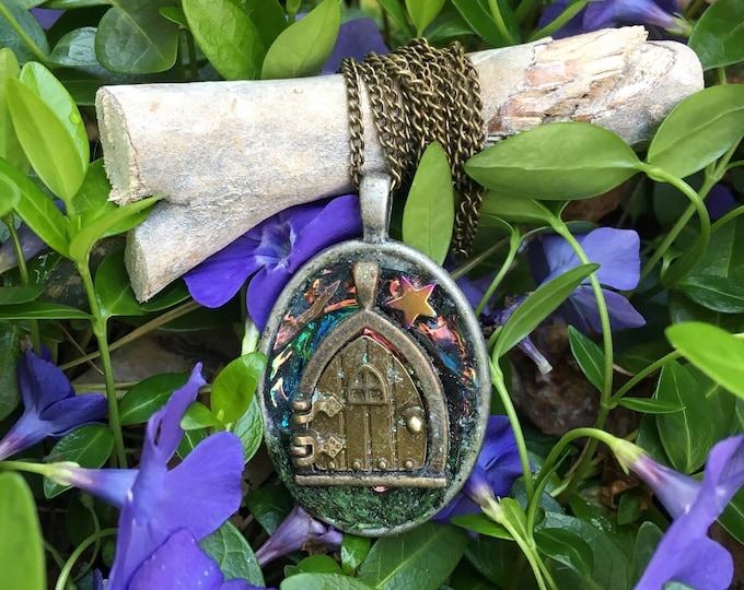 Magical Fairy Door Necklace