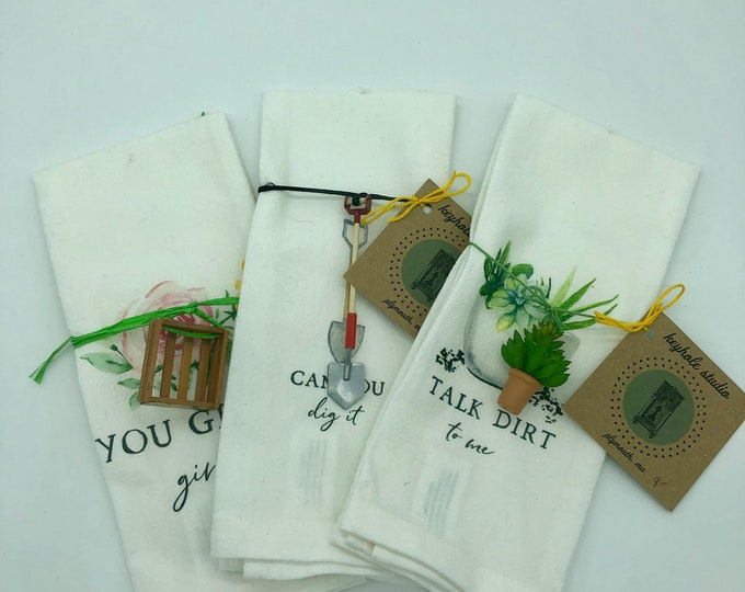 Miniatures and Tea Towel Combo Set!