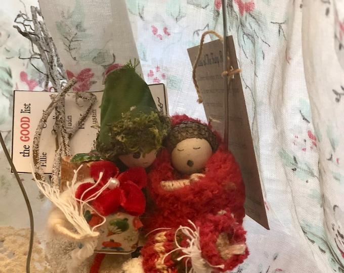 Christmas Bird/Elf Task Force -  In Stock