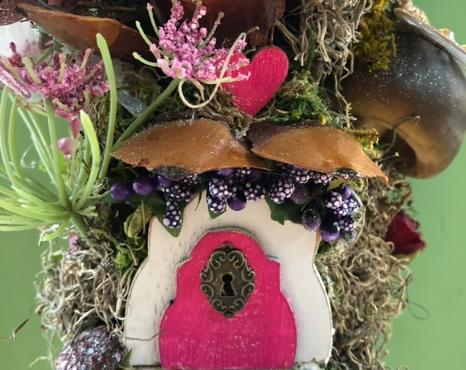 Hummingbird Haven Fairy Home