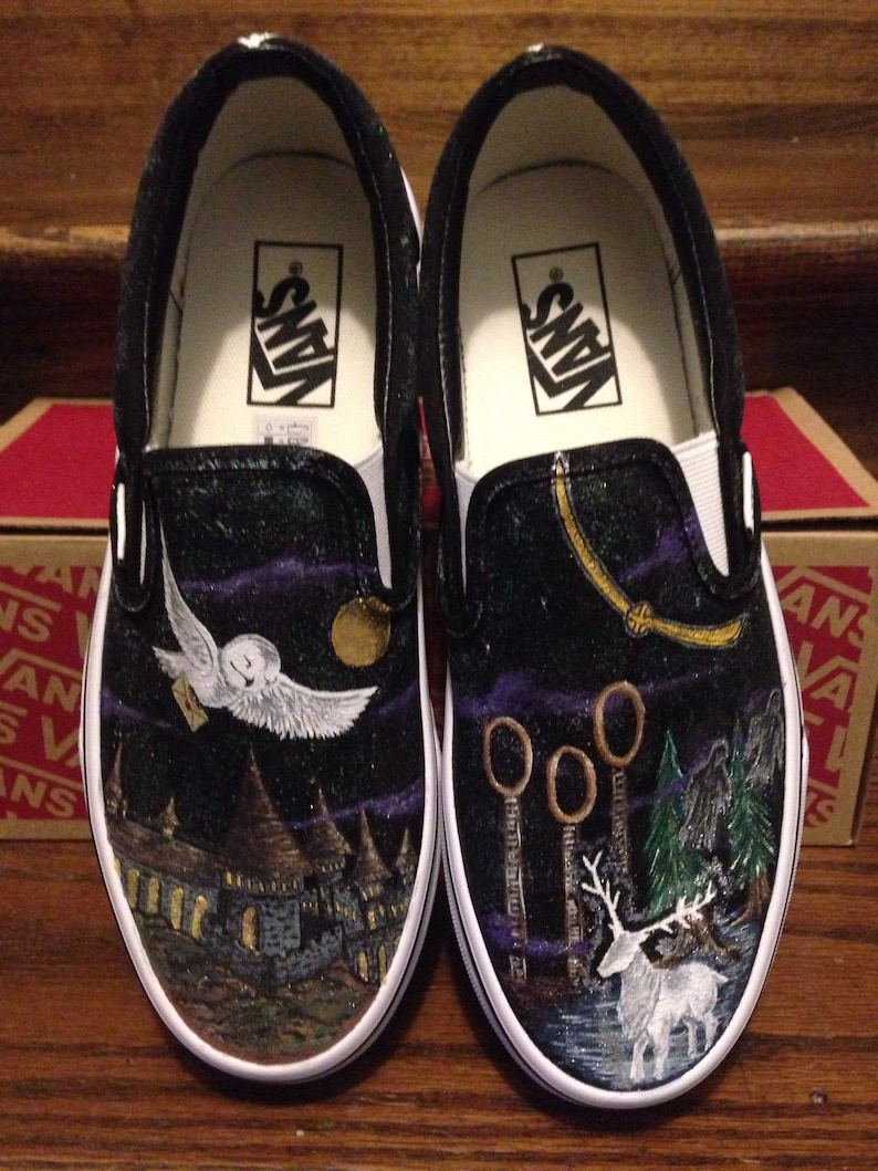 0b04950fa08e Harry Potter inspired Vans