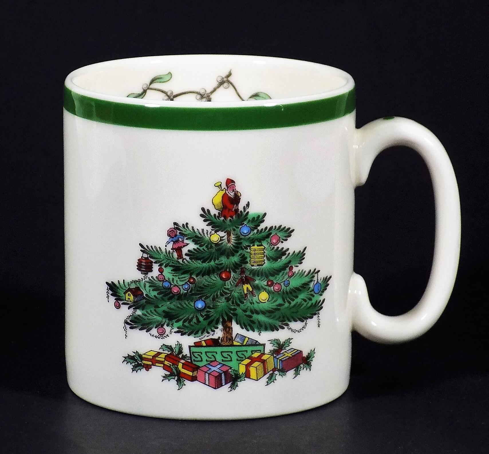 Spode Christmas Tree Coffee Mug Porcelain China Drinkware | Etsy