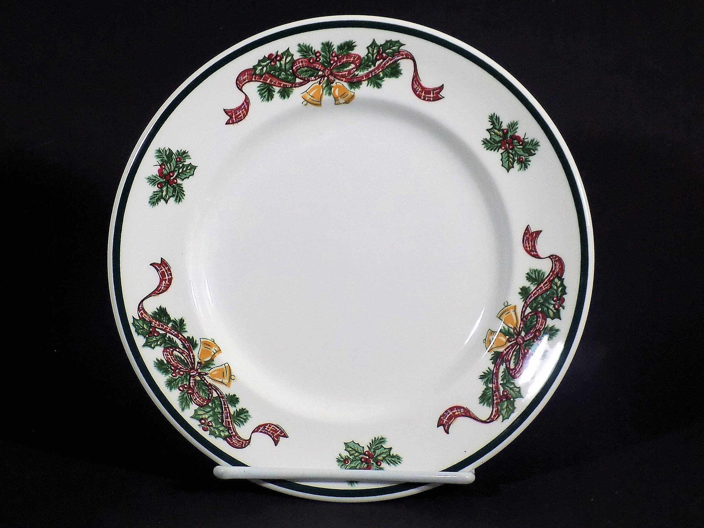 Johnson Brothers Victorian Christmas Salad Plate 8 | Etsy