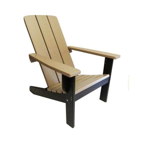 Modern Adirondack Chair Two Tone
