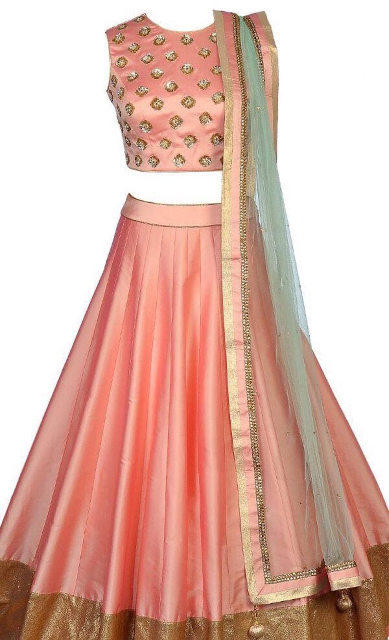 db52b00b43 Crop Top And Long Skirt Indian Wedding – DACC