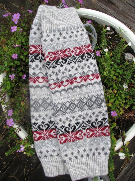 Stulpen stricken Socken Wolle Socken Boot Manschetten   Etsy