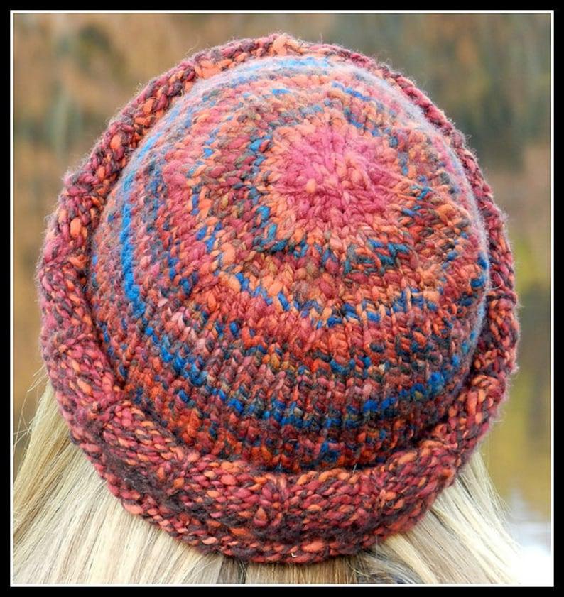 EASY Knitting Pattern Beginner Hat Beanie Bulky Chunky ...