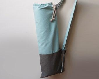 057dcc3fba78 Yoga mat bag Minimalist pilates mat bag Waterproof canvas yoga tote Stylish  yoga sling Handmade pocket mat carrier Chic women yoga bag Gift