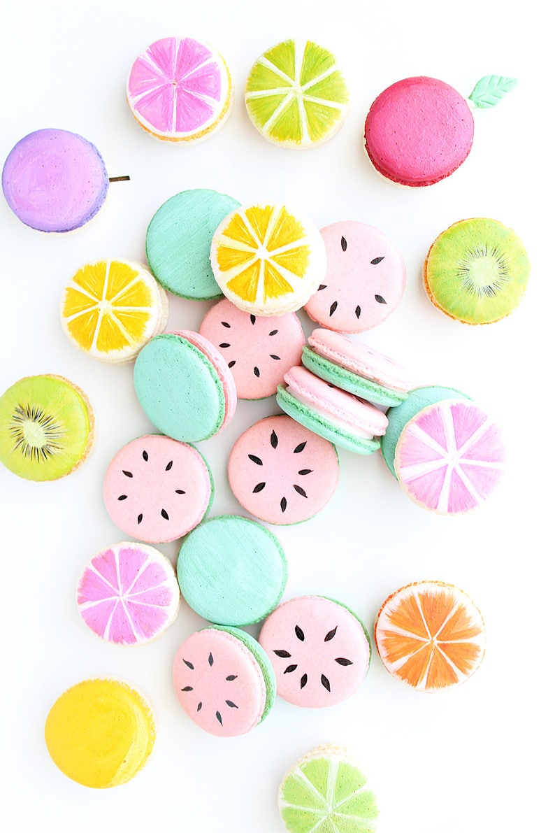 Watermelon Macarons One In A Melon Macarons French Macarons image 0