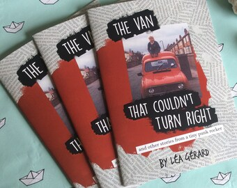 The Van That Couldn't Turn Right comic zine