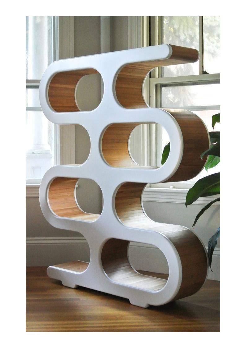 Merveilleux Mid Century Bookcase   Modern Room Divider   Storage And Display Unit   Mid  Century Modern Furniture   Shelving And Storage Furniture