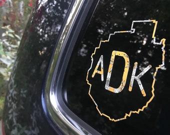 Adirondack NPT Northville Placid Trail 133 miles Oval Car Vinyl Decal Sticker
