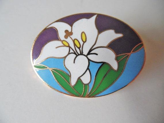 Vintage Floral Pin Vintage Floral brooch Vintage … - image 2