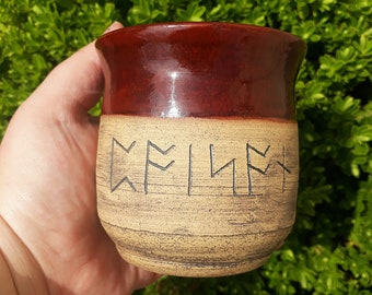 Runic 'Poison' Cup
