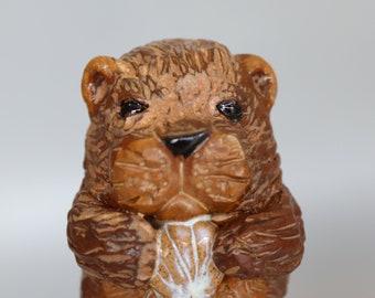 Handmade Ceramic Otter