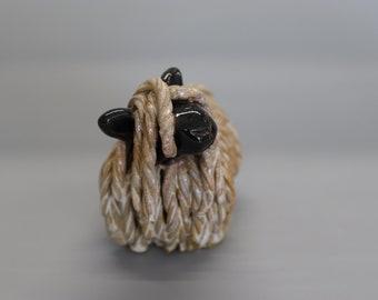 Handmade Ceramic Wensleydale Sheep