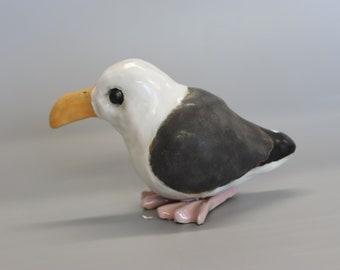 Handmade Ceramic Seagull