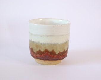 Handmade Ceramic Wine/Whiskey Cup Tumbler