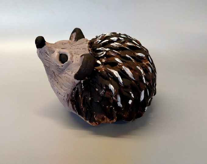 Featured listing image: Pottery Hedgehog Sculpture Kit