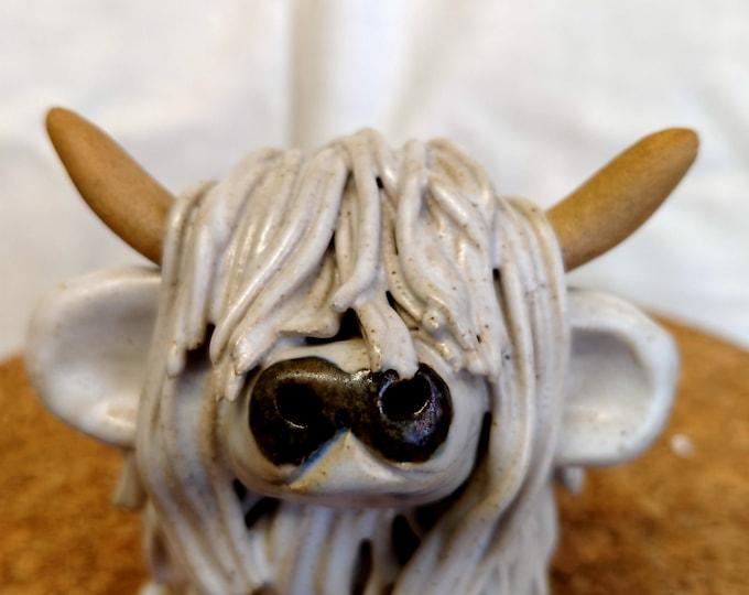 Handmade Ceramic Highland Coo