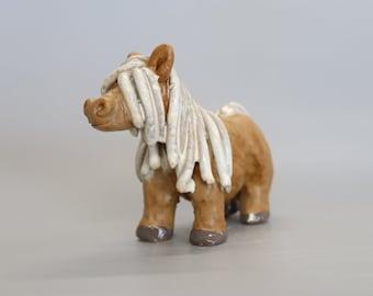 Handmade Ceramic Shetland Pony