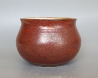 Soup cauldron bowl (handmade ceramic)