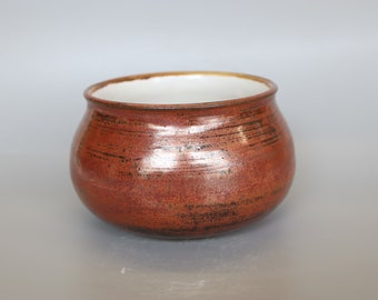 Handmade Ceramic Cauldron Soup Bowl