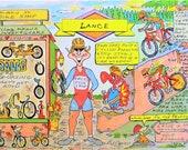CYCLIST Personalized Cartoon