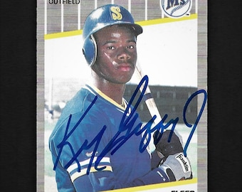 Ken Griffey Jr Rookie Card Etsy