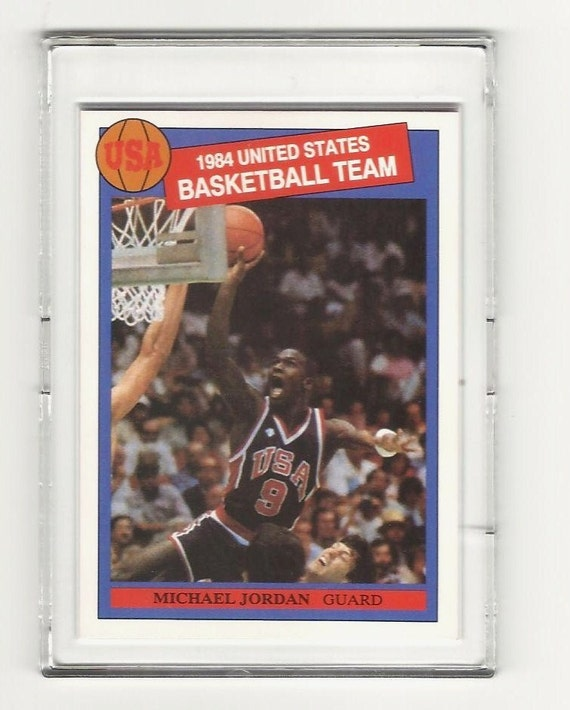 1984 Michael Jordan Rookie Card USA Olympic Basketball
