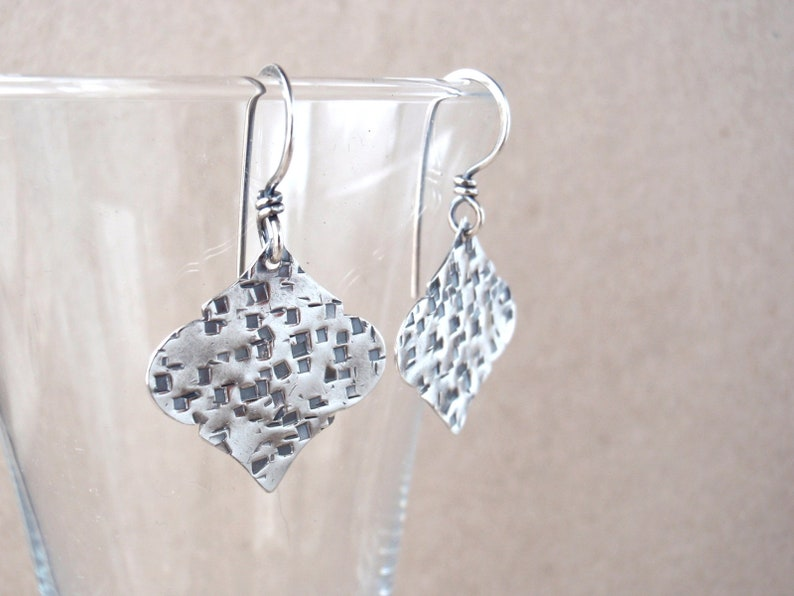 Ogee Earrings  Small Size  Moroccan-Inspired  Handcrafted image 0