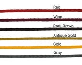 1 4 quot (6mm) Cotton Rayon Flat Cord 2272