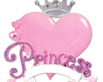 Personalized Princess Ornament
