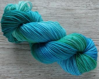 Unamed Variegated DK OOAK (one of a kind) - DK Weight, Superwash Merino, Nylon Blend Yarn, 75/25