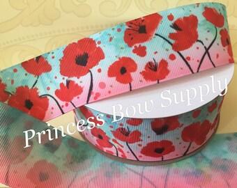 """1M 38mm 1-1//2/""""  Princess Doll Confetti Grosgrain Ribbon Hair Bow"""