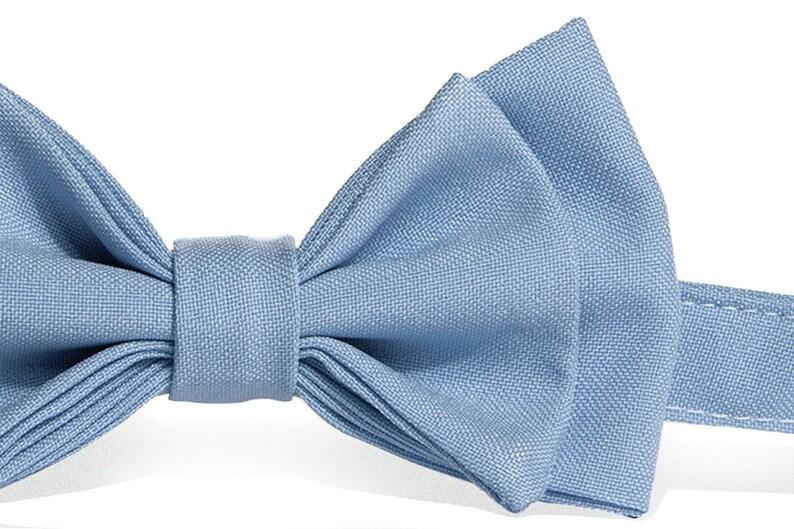 Bow Tie Suspenders for Mens Bow Tie Suspenders for Boys Navy Suspenders /& Baby Blue Bow Tie for Baby Toddler Boy Men