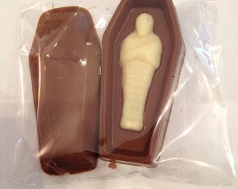 chocolate sarcophagus
