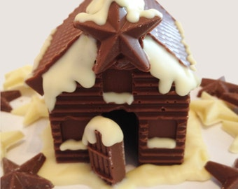 DIY Chocolate Fairytale House- Build your very own Christmas house, perfect family gift, construct your own chocolate gift