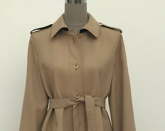 Original vintage trench coat, 70s, boho