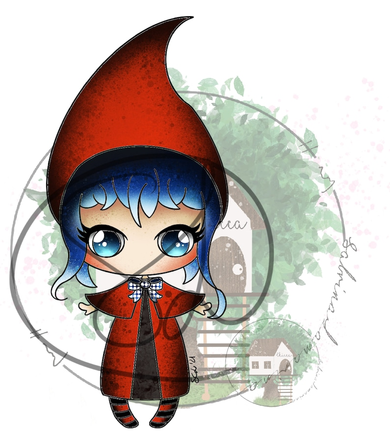 Sweet little red riding hood image 0