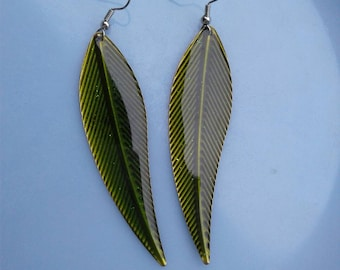Leaf Earrings, Boho Earrings, Boho Jewelry.