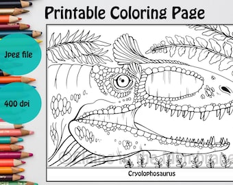 Dinosaurier-Malbuch Kinder Malbuch Dinosaurier-Buch   Etsy   270x340