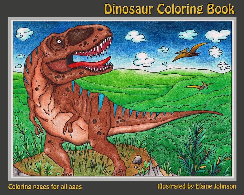 Kleurplaten Dinosaur.Dinosaurus Kleurplaat Boek Kids Kleurplaten Dinosaurus Boek Dinosaur Kunstboek Boek Kleurboek Kleurplaten Kleurplaat Voor Kinderen