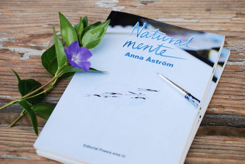 Natural mente  poesía y acuarela de Anna Astrom image 0
