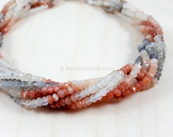 AAA Quality 14 inch strand SALE 70 /% 50 strands 2.25 mm Carnelian WHOLESALE Micro Faceted Rondelle Beads